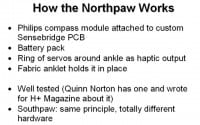 The Northpaw: how it works