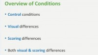 Groups of conditions