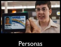 Personas must be credible