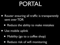 Benefits of using PORTAL