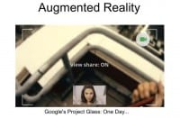Augmented reality is just around the corner