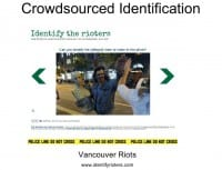 Rioters getting identified