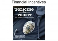 Who might be driven by financial incentives?