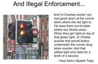 Illegal enforcement
