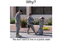 We say No to a police state