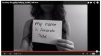 Snapshot of Amanda Todd's video