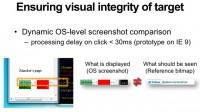 Ensuring target's visual integrity