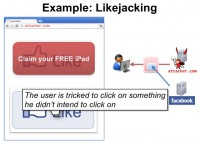 Likejacking explained