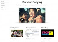 Facebook's Bullying Prevention Page