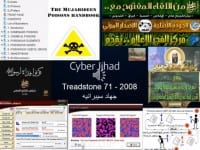 Collage on Jihadist resources