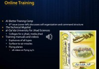 Jihadist online training resources