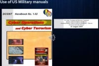 Use of US military manuals