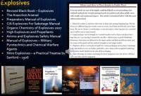 Academic view of explosives