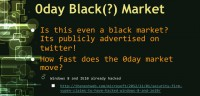 0day market - black or not?