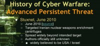 Some facts on Stuxnet