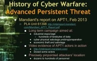 Mandiant's report on APT1 - details