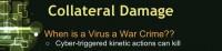 Virus turning into a war crime