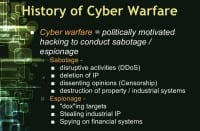 Constituents of cyber warfare