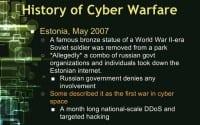 The Estonian incident