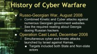 Russo-Georgian War and Operation Cast Lead