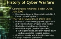 Attacks against financial sector and the Tulip Revolution in Kyrgyzstan
