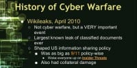 WikiLeaks within cyber warfare framework