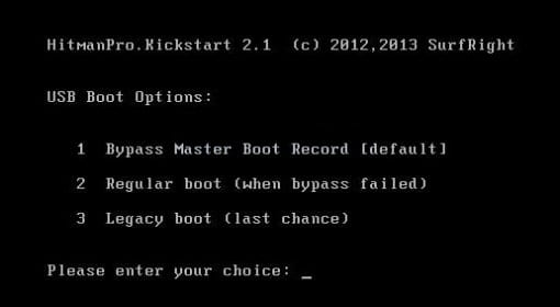 hitmanpro-kickstart-usb-boot-options