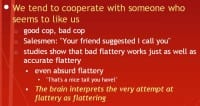 The flaw of 'liking'