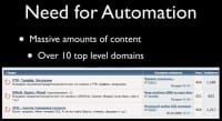 Why automate the whole thing?