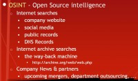 Aspects of OSINT