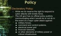 Hurdle 1: declaratory policy