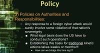 Hurdle 3: lack of policies