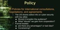 Hurdle 6: increasing situational awareness by encouraging international cooperation