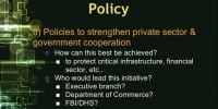 Hurdle 8: strengthening cooperation