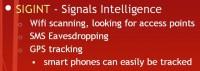 Methods of SIGINT