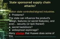 Supply chain attacks may be sponsored by nation states