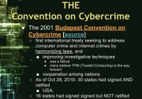 The Convention on Cybercrime