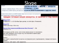 Skype accounts as a type of goods