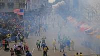 The Boston bombing scene