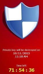 CryptoLocker – the virus providing 96 hours for decrypting your files
