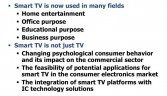 Smart TV getting ubiquitous