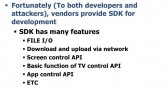 SDK features