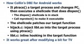 Collin's DBI for Android