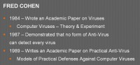 Fred Cohen's insight into antiviruses