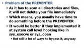 Dealing with the Preventer