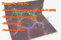 Modern PCs: small size, huge power