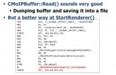 ReadBuffer sounds always good