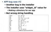 Bug case #2