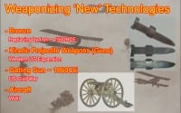 Weaponization of technologies
