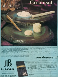 Cocaine accessories advertised back in the 70s